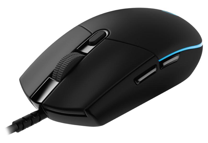 Мышь Logitech G PRO HERO Black USB проводная, оптическая, 16000 dpi, 5 кнопок + колесо