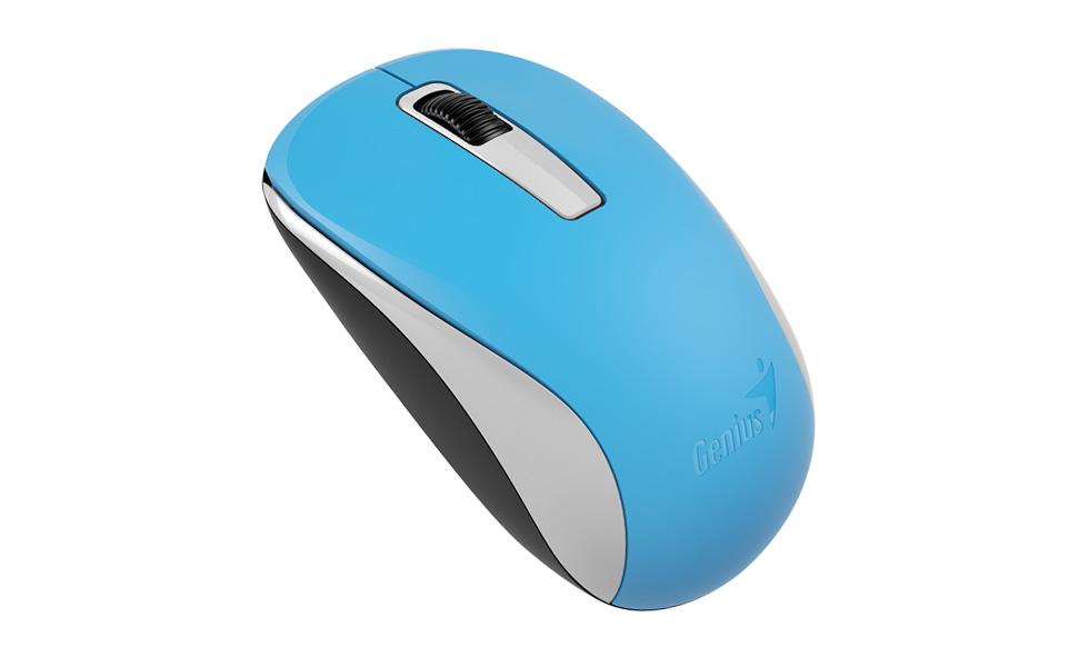 Мышь беспроводная Genius NX-7005 Blue USB оптическая, 1200 dpi, 2 кнопки + колесо