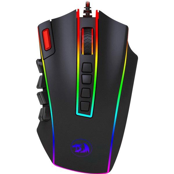 Мышь Redragon Legend Chroma RGB Black USB проводная, оптическая, 24000 dpi, 23 кнопоки + колесо