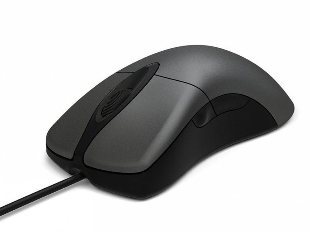 Мышь Microsoft Classic IntelliMouse Grey USB Оптическая, 5 кнопок + колесо