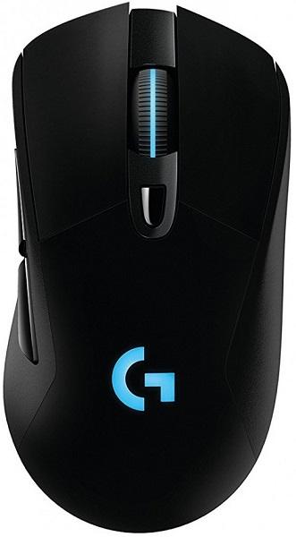 лучшая цена Мышь Logitech G703 Lightspeed Gaming Black USB + Radio Оптическая, 16000 dpi, 5 кнопок + колесо