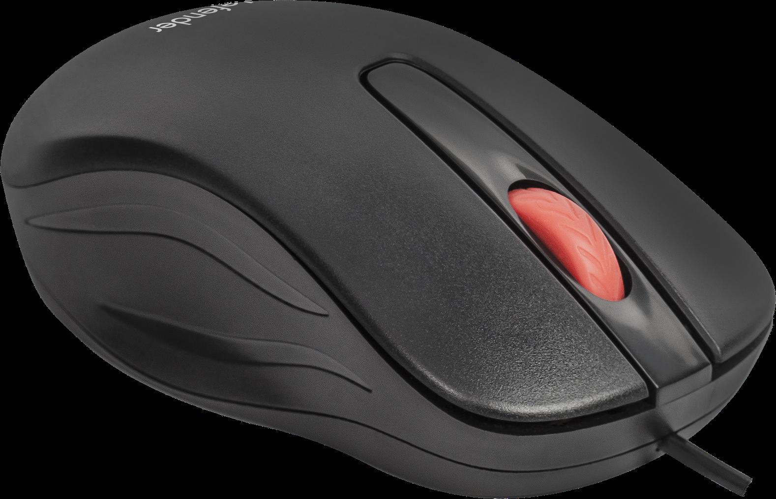 цена на Мышь Defender Point MM-756 Black USB проводная, оптическая, 1000 dpi, 2 кнопки + колесо