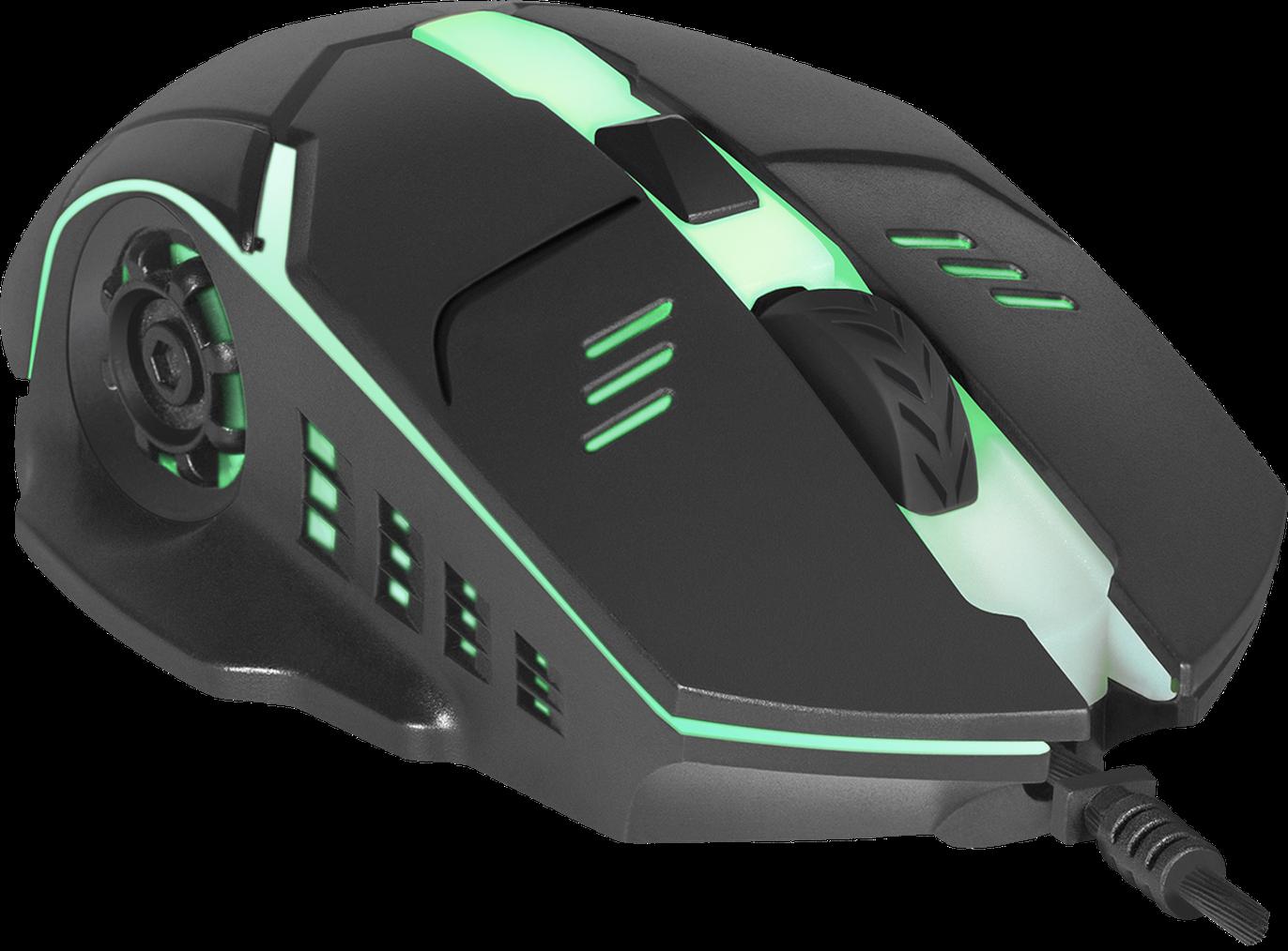 Мышь Defender Ultra Matt MB-470 Black USB Оптическая, 1000 dpi, 4 кнопки, включая колесо прокрутки