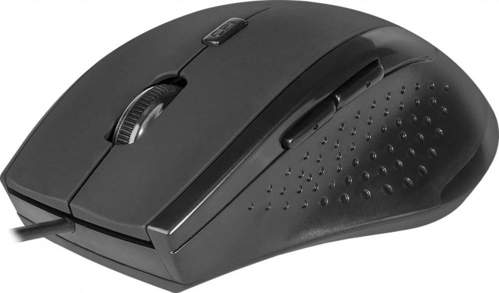 Мышь Defender Accura MM-362 Black USB проводная, оптическая, 1600 dpi, 5 кнопок + колесо мышь проводная defender accura ms 970 серый оранжевый usb 52971