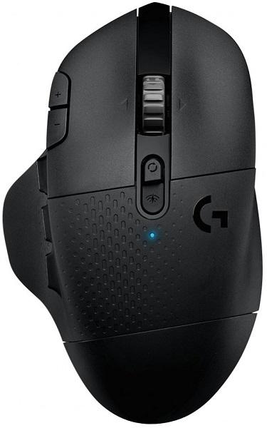 лучшая цена Мышь беспроводная Logitech G604 Black BT + USB оптическая, 16000 dpi, 12 кнопок + колесо