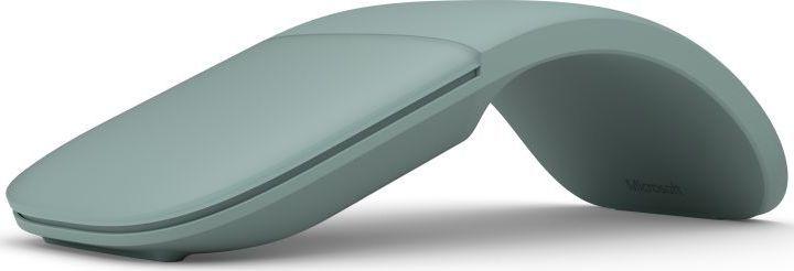 цена на Мышь Microsoft ARC (ELG-00052) Green BT проводная, оптическая, 1000 dpi, Сенсорная панель