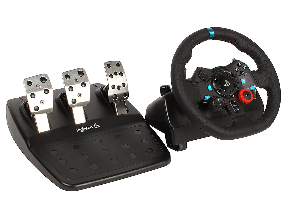 Руль Logitech G29 Driving Force Racing Wheel for PS4, PS3 and PC (941-000112) цена в Москве и Питере