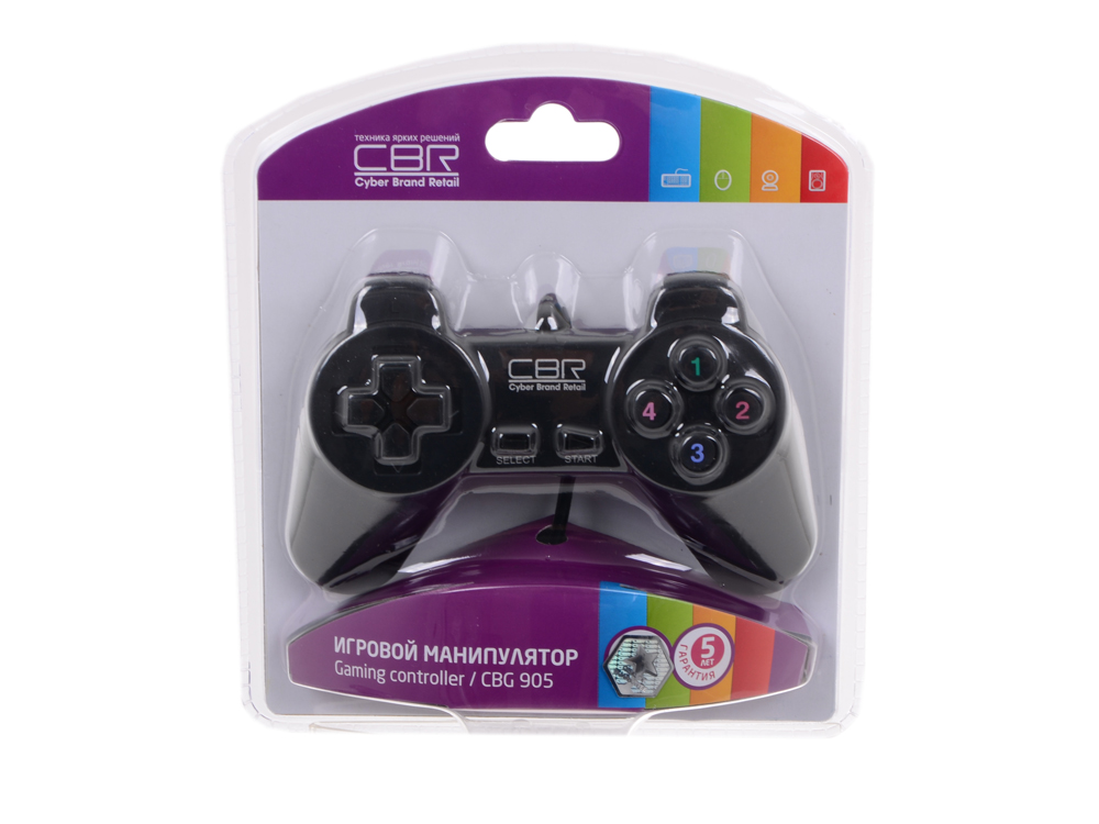 Геймпад CBR CBG 905 для PC, проводной, USB геймпад nintendo switch pro controller
