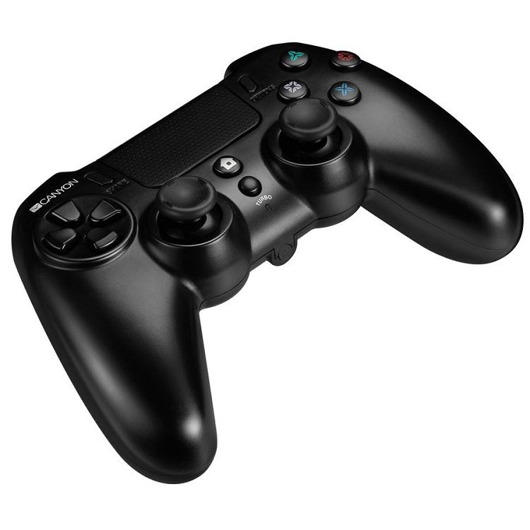 лучшая цена Геймпад беспрвоодной Canyon CND-GPW5 с тачпадом для PS4
