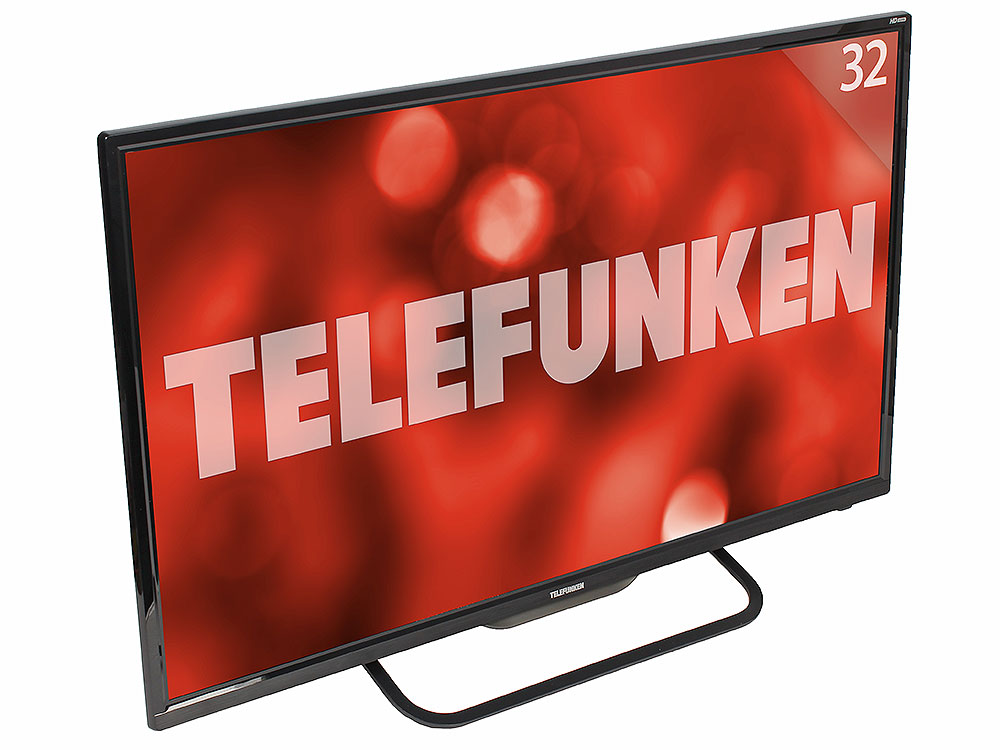 цена на Телевизор TELEFUNKEN TF-LED32S37T2 LED 32 Black, 16:9, 1366x768, 5000:1, 240 кд/м2, USB, VGA, HDMI, AV, SCART, DVB-T2, T, C