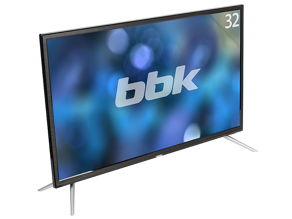 Телевизор BBK 32LEM-1027/TS2C LED 32 Black, 16:9, 1366х768, 3 000:1, 250 кд/м2, USB, HDMI, VGA, DVB-T, T2, C, S