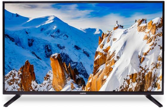 Телевизор HARPER 43F660T LED 43 Black, 16:9, 1920x1080, 90 000:1, 250 кд/м2, USB, HDMI, VGA, DVB-T, T2, C телевизор 90
