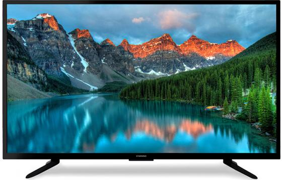 Телевизор StarWind SW-LED39R301BT2 LED 39 Black, 16:9, 1366х768, 3000:1, 300 кд/м2, USB, HDMI, VGA, AV, DVB-T, T2, C телевизор bbk 32lem 1027 ts2c led 32 black 16 9 1366 х 768 3000 1 250 кд м2 usb vga 3xhdmi av dvb t t2 c s