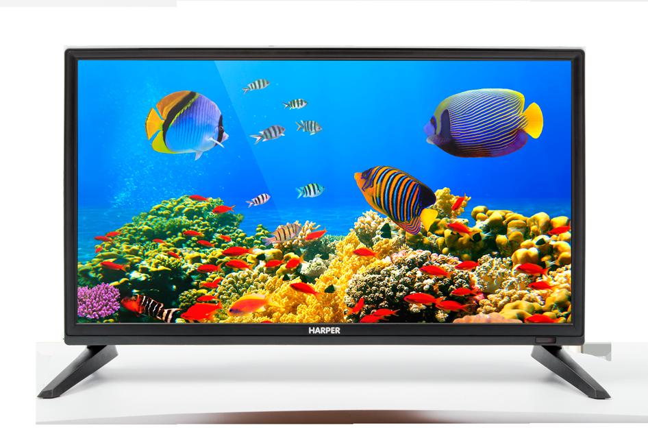 Телевизор HARPER 20R470T LED 20 Black, 16:9, 1366х768, 40 000:1, 180 кд/м2, USB, HDMI, VGA, DVB-T, T2, C
