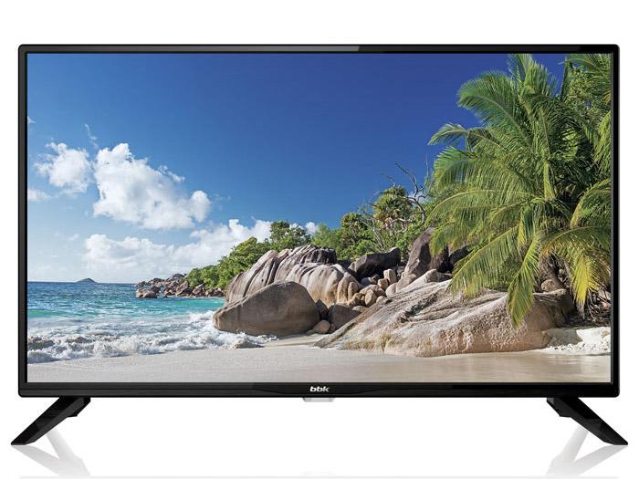 Телевизор LED 39 BBK 39LEM-1045/T2C черный, HD Ready, DVB-T2, USB, HDMI телевизор bbk 39lem 1045 t2c led 39 black 16 9 1366x768 5000 1 250 кд м2 usb hdmi av dvb t t2 c