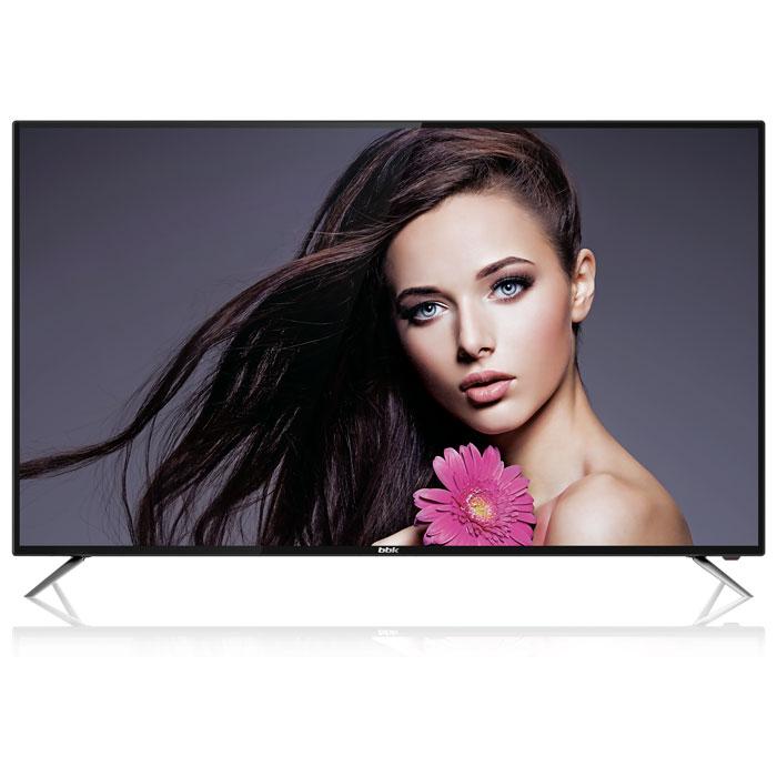 Телевизор BBK 55LEX-6039/UTS2C LED 55 Black, Smart TV, 16:9, 3840x2160, 4 500:1, 250 кд/м2, USB, HDMI, VGA, Wi-Fi, RJ-45, DVB-T2, C, S2 телевизор 55 bbk 55lex 6039 uts2c 4k uhd 3840x2160 smart tv черный