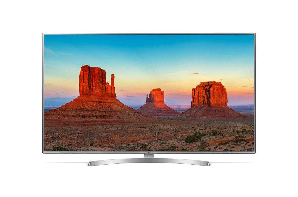 Телевизор LG 50UK6510PLB LED 50 Silver, 16:9, 3840x2160, Smart TV, USB, 4xHDMI, AV, DVB-T2, C, S2 телевизор lg 49uj651v silver