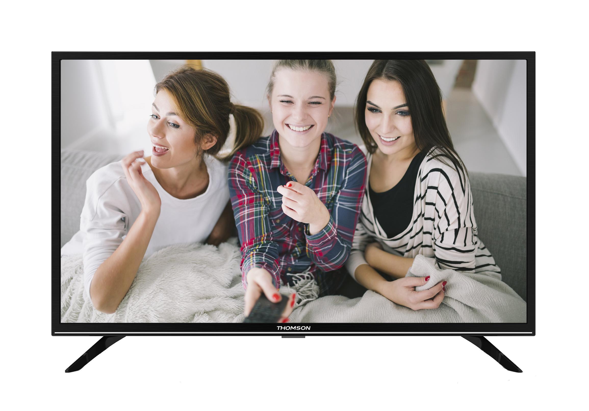 цена на Телевизор Thomson T32RTE1160 LED 32 Black, 16:9, 1366х768, 3 000:1, 260 кд/м2, USB, HDMI, DVB-T, T2, C