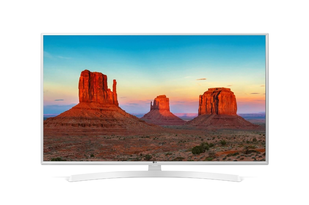 "Телевизор LG 43UK6390 LED 43"" White, Smart TV, 16:9, 3840x2160, USB, HDMI, Wi-Fi, RJ-45, DVB-T, T2, C, S, S2"