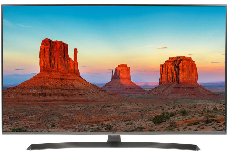 "Телевизор LG 49UK7500 LED 49"" Titanium, Smart TV, 16:9, 3840x2160, USB, HDMI, Wi-Fi, RJ-45, DVB-T2, C, S2"