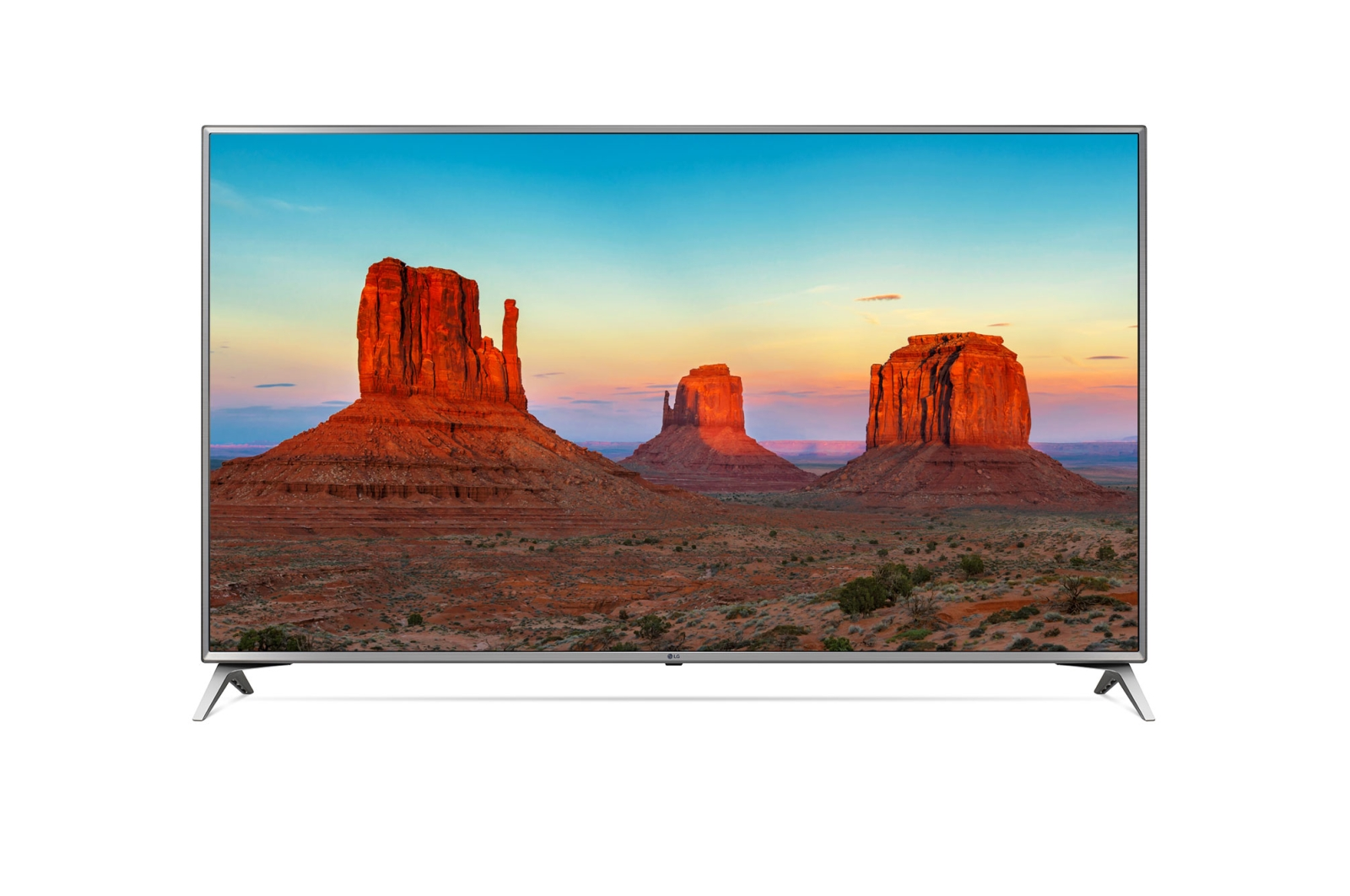 "Телевизор LG 55UK6510 LED 55"" Silver, Smart TV, 16:9, 3840x2160, USB, HDMI, Wi-Fi, RJ-45, DVB-T, T2, C, S, S2"