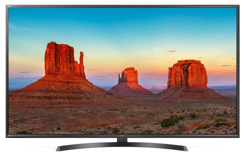Телевизор LG 65UK6450 LED 65 Black, Smart TV, 16:9, 3840x2160, USB, 3xHDMI, AV, Wi-Fi, RJ-45, DVB-T, T2, C, S, S2 телевизор lg 43lk5400 led 43 black 16 9 1920x1080 smart tv usb 2xhdmi av wifi rj 45 dvb t t2 c s s2