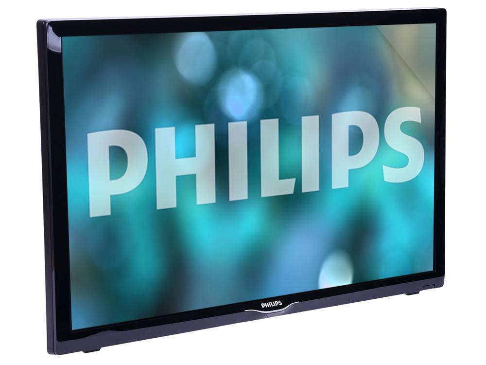 Фото - Телевизор Philips 22PFS4022/60 LED 22 Black, 16:9, 1920x1080, 250 кд/м2, USB, HDMI, VGA, DVB-T, T2, C, S, S2 телевизор shivaki stv 49led16 led 49 silver 16 9 1920x1080 3000 1 250 кд м2 2xusb vga 3xhdmi scart av dvb t t2 c s2