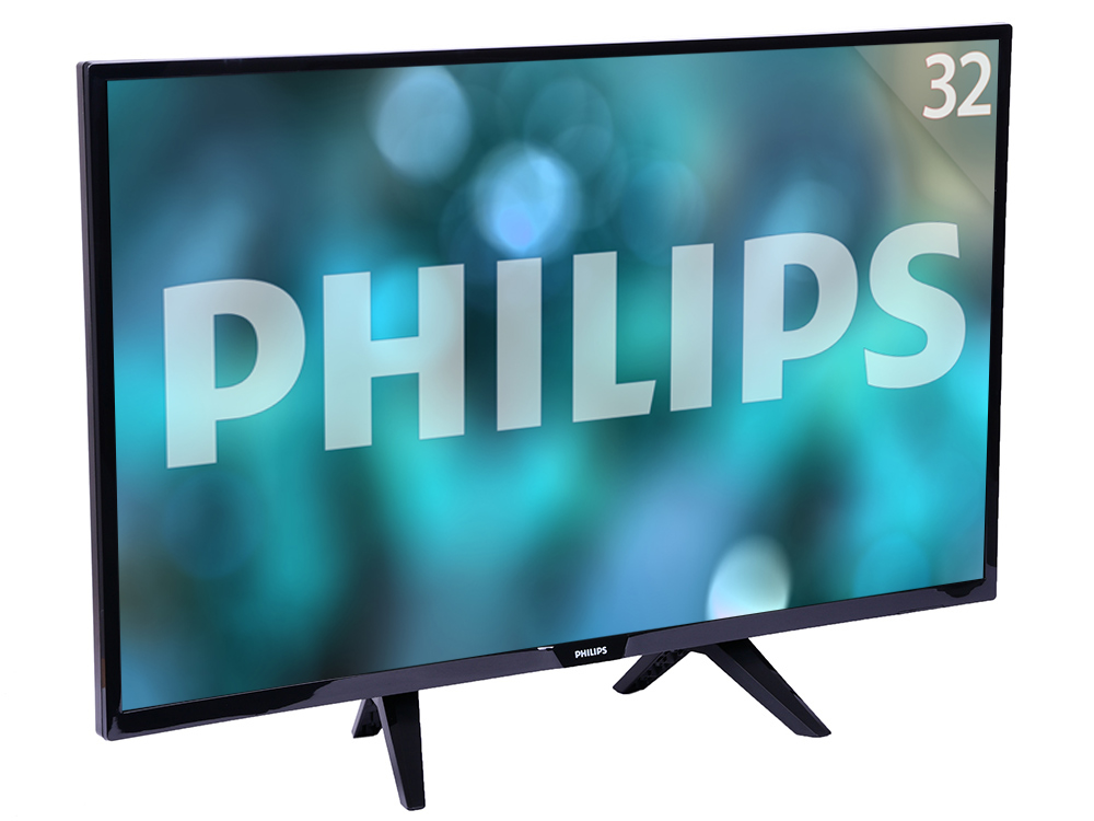 Телевизор Philips 32PHS4132/60 LED 32 Black, noSmart TV, 16:9, 1366х768, 280 кд/м2, USB, HDMI, DVB-T, T2, C, S, S2 tv lcd philips