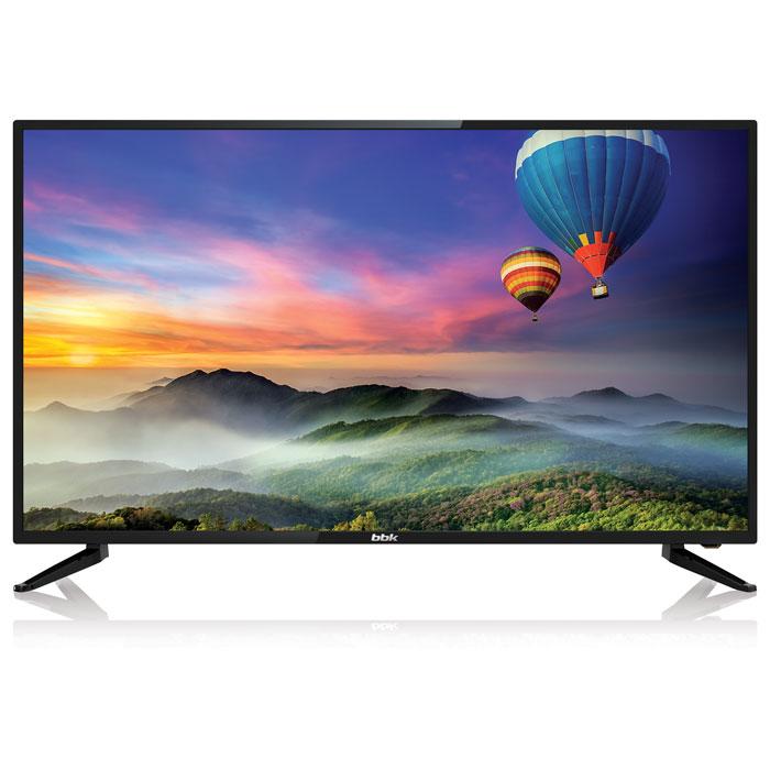 Телевизор BBK 40LEX-5056/FT2C LED 40 Black, 16:9, 1920x1080, Smart TV, 5000:1, 250 кд/м2, USB, VGA, 3xHDMI, AV, WiFi, RJ-45, DVB-T2, C телевизор bbk 39lem 1045 t2c led 39 black 16 9 1366x768 5000 1 250 кд м2 usb hdmi av dvb t t2 c