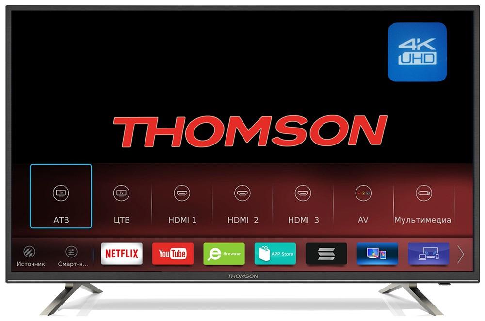 Телевизор LED 49 Thomson T49USM5200 thomson t43d16sf 01b page 5
