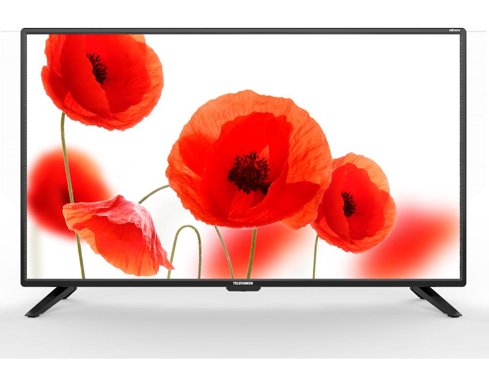 цена на Телевизор Telefunken TF-LED39S62T2 LED 39 Black, 16:9, 1366х768, 5 000:1, 230 кд/м2, USB, HDMI, VGA, DVB-T, T2, C, S, S2