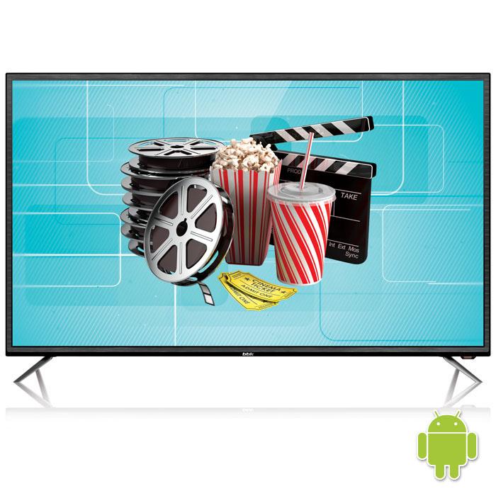 Телевизор LED 32 BBK 32LEX-7027/T2C ЧЁРНЫЙ, HD READY, SMART TV, Wi-Fi, USB 2, HDMI, DVB-T2, Телетекст телевизор 32 bbk 32lex 5042 t2c hd 1366x768 smart tv серый