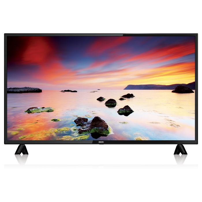 """Телевизор LED 43"""" BBK 43LEM-1043/FTS2C Full HD 1920x1080, DVB-S2, DVB-T2, HDMIx3, USB-порт 1шт"""