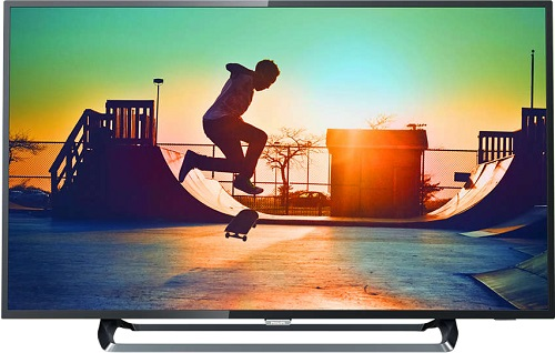 Телевизор Philips 55PUS6262/60 LED 55 Black, Smart TV, 16:9, 3840x2160, 350 кд/м2, USB, HDMI, Wi-Fi, RJ-45, DVB-T, T2, C, S, S2 tv lcd philips