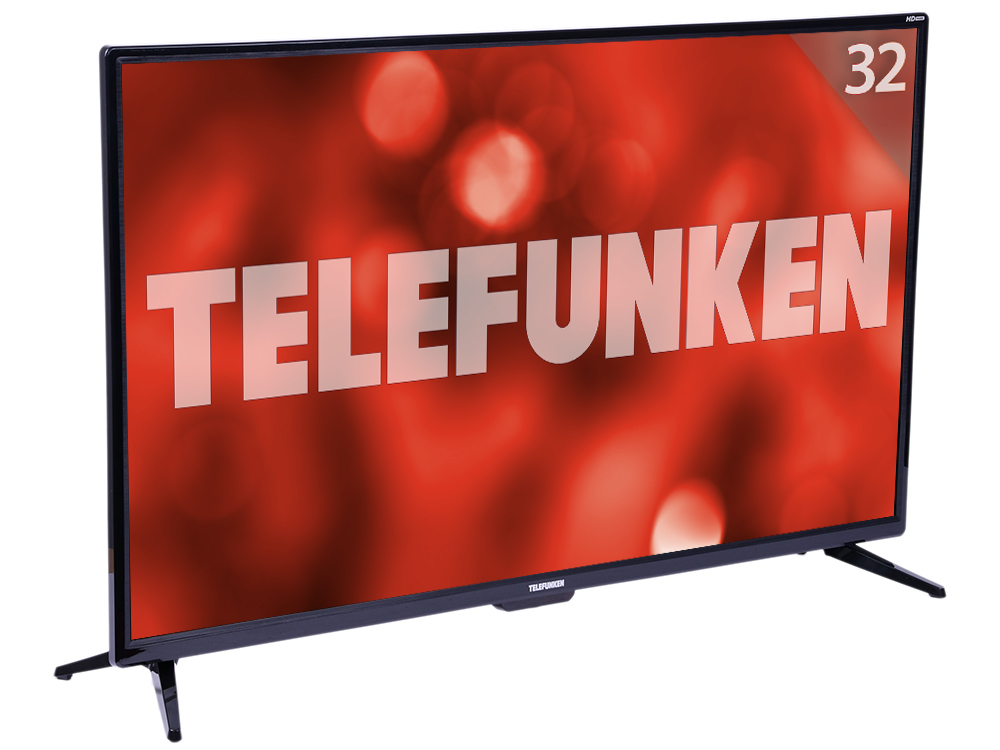 Телевизор Telefunken TF-LED32S86T2S LED 32 Black, Smart TV, 16:9, 1366х768, 3 000:1, 240 кд/м2, USB, HDMI, VGA, Wi-Fi, RJ-45, DVB-T, T2, C телевизор telefunken tf led19s14t2 led 19 black 16 9 1366x768 1000 1 200 кд м2 usb vga hdmi s pdif dvb t t2 c