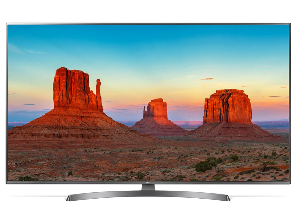 "Телевизор LG 55UK6750 LED 55"" Titanium, Smart TV, 16:9, 3840x2160, USB, HDMI, Wi-Fi, RJ-45, DVB-T2, C, S2"