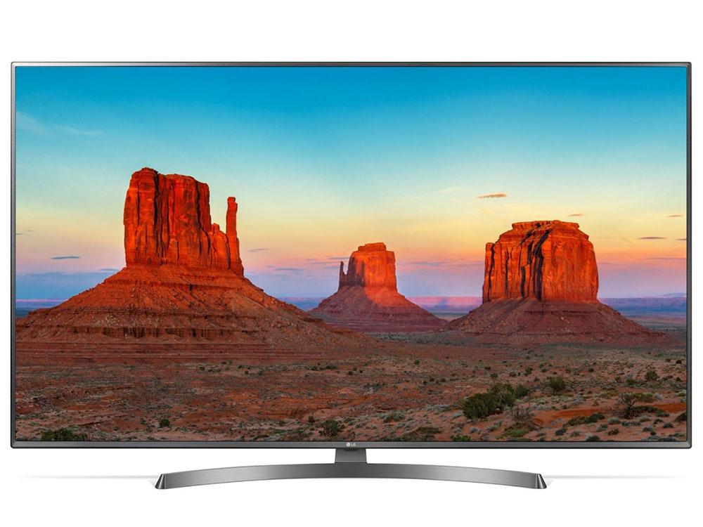 Телевизор LG 65UK6750 LED 65 Titanium, Smart TV, 16:9, 3840x2160, USB, HDMI, Wi-Fi, RJ-45, DVB-T2, C, S2 телевизор led 65 bbk 65lex 6039 uts2c tv черный 3840x2160 wi fi smart tv vga rj 45