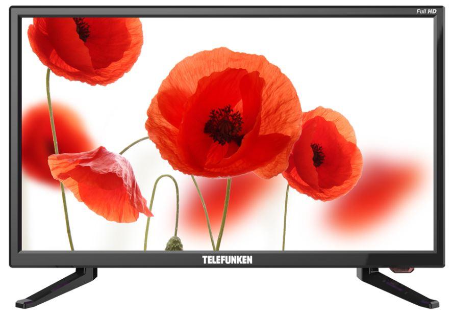 Телевизор Telefunken TF-LED22S49T2 LED 21,5 Black, 16:9, 1920 x 1080, 3 000:1, 220 кд/м2, USB, HDMI, VGA, DVB-T/T2, DVB-C lileng 821 usb powered 3 blade 2 mode fan black 4 x aa