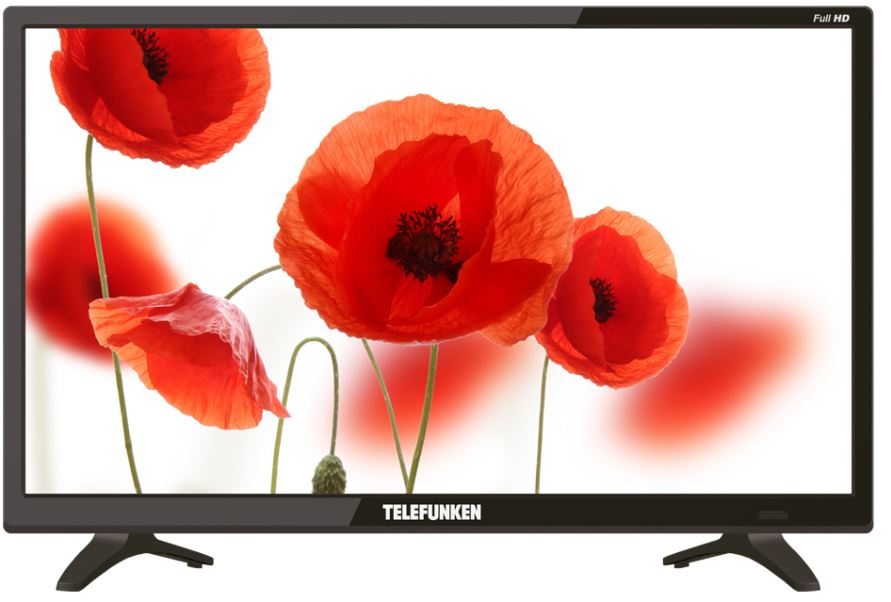 Телевизор Telefunken TF-LED22S53T2 LED 21,5 Black, 16:9, 1920 x 1080, 3 000:1, 220 кд/м2, USB, HDMI, VGA, DVB-T/T2, DVB-C lileng 821 usb powered 3 blade 2 mode fan black 4 x aa