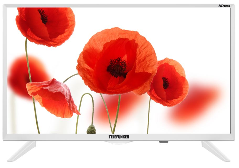 Телевизор Telefunken TF-LED24S75T2 LED 23,6 White, noSmart TV, 16:9, 1366х768, 3 000:1, 220 кд/м2, USB, HDMI, VGA, noS-Video, noWi-Fi, noRJ-45, DVB-T, T2, C hesion hs01003 e14 3w 270lm 3000k 3 led warm white candle light ac 85 265v