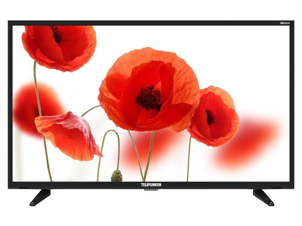 Фото - Телевизор Telefunken TF-LED32S23T2 LED 32 Black, 16:9, 1366х768, 3000:1, 270 кд/м2, USB, HDMI, AV, DVB-T, T2, C трансмиссионное масло mobil 1 л 152648