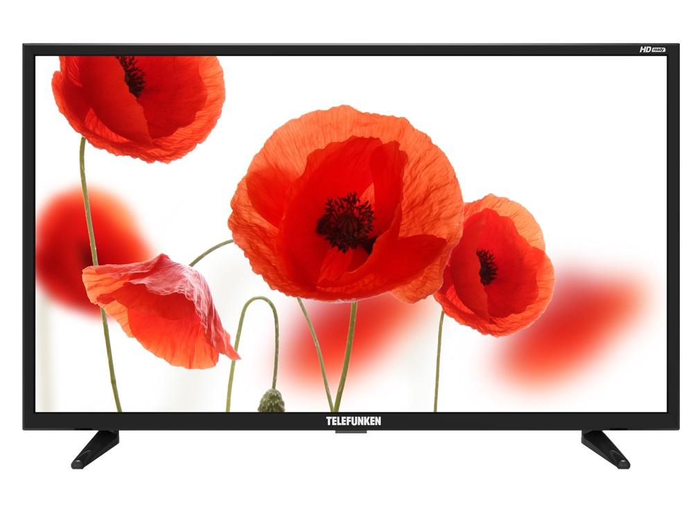 Телевизор Telefunken TF-LED32S25T2 LED 32 Black, 16:9, 1366х768, 3000:1, 270 кд/м2, USB, HDMI, AV, DVB-T2, C цена