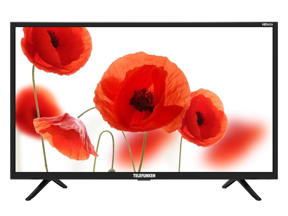 Телевизор Telefunken TF-LED32S28T2 LED 32 Black, 16:9, 1366х768, 3000:1, 270 кд/м2, USB, HDMI, AV, DVB-T, T2, C цена