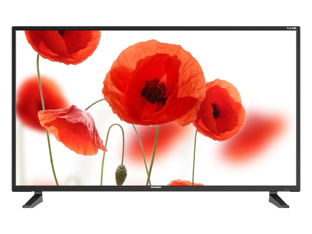 Телевизор Telefunken TF-LED40S61T2 LED 40 Black, 16:9, 1920x1080, 5000:1, 250 кд/м2, USB, HDMI, VGA, AV, DVB-T, T2, C телевизор bbk 32lem 1027 ts2c led 32 black 16 9 1366 х 768 3000 1 250 кд м2 usb vga 3xhdmi av dvb t t2 c s