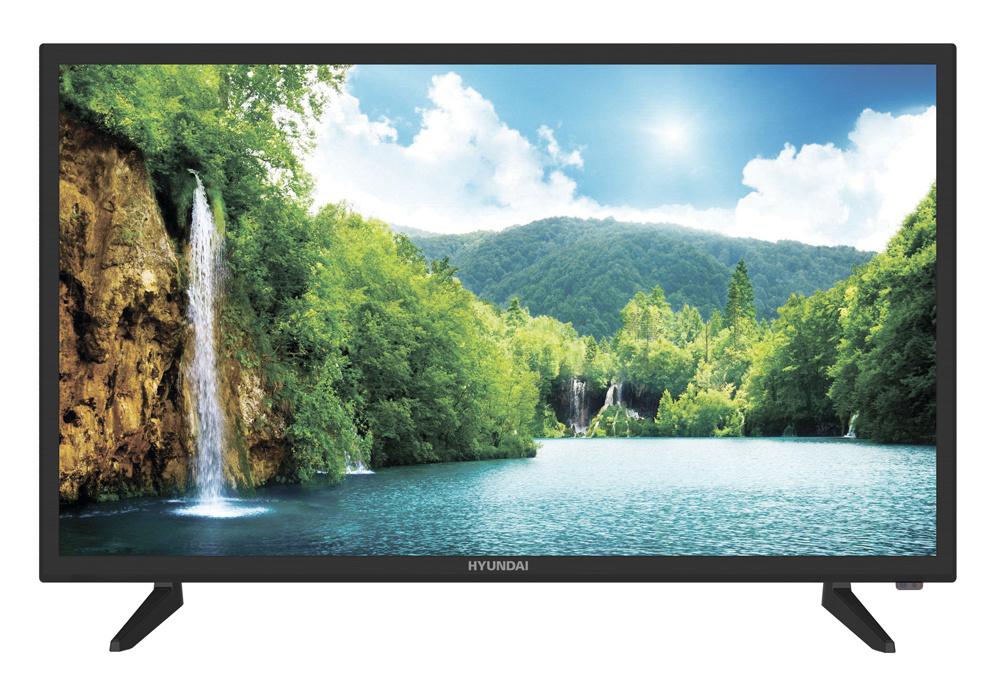 "Телевизор Hyundai H-LED32R504BT2S LED 32"" Black, Smart TV, 16:9, 1366х768, 1400:1, 250 кд/м2, USB, HDMI, VGA, AV, Wi-Fi, RJ-45, DVB-T2, C"