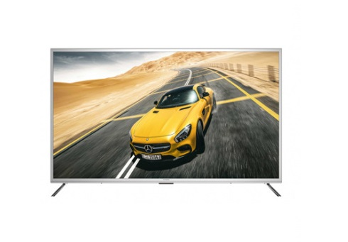 "Телевизор Hyundai H-LED50U627SS2S LED 50"" Silver, Smart TV, 16:9, 3840x2160, 5000:1, 330 кд/м2, USB, HDMI, AV, Wi-Fi, RJ-45, DVB-T, T2, C, S2"