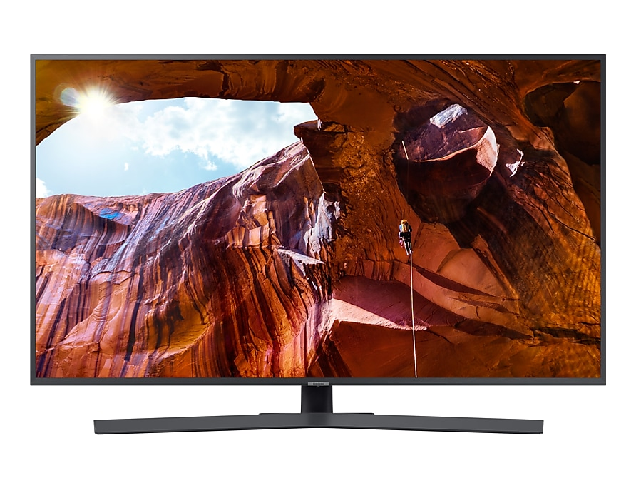 "Телевизор Samsung UE50RU7400UXRU LED 50"" Black, Smart TV, 16:9, 3840x2160, USB, HDMI, AV, Wi-Fi, RJ-45, DVB-T2, C, S2"