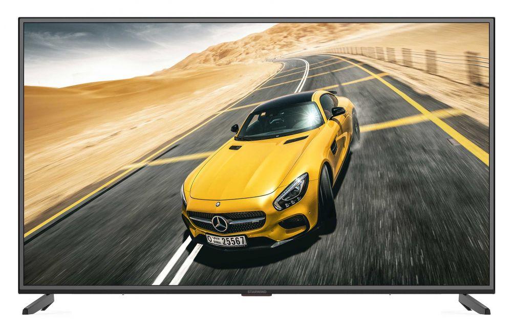 лучшая цена Телевизор StarWind SW-LED50U303BS2 LED 50