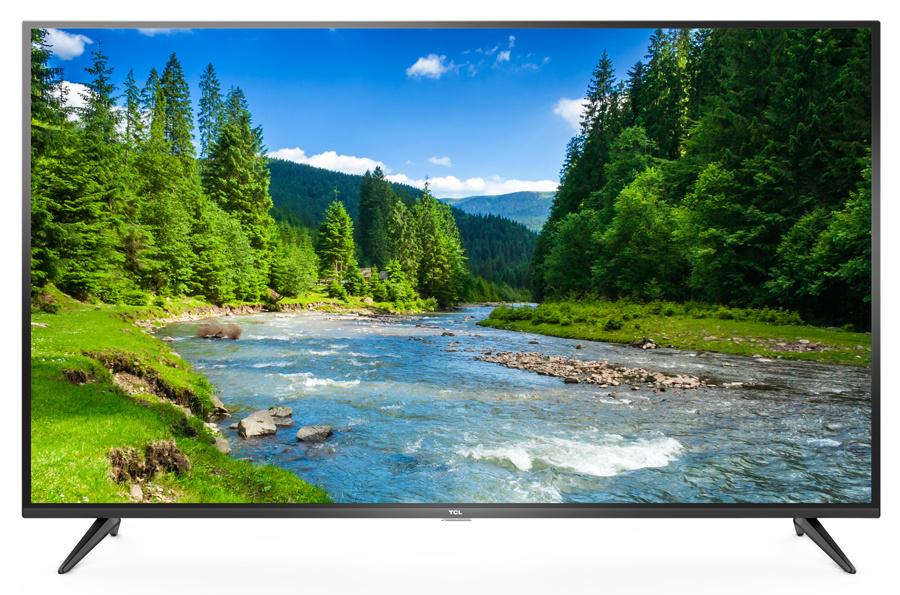 "Телевизор TCL L43P65US LED 43"" Black, Smart TV, 16:9, 3840x2160, 4000:1, 270 кд/м2, USB, HDMI, AV, Wi-Fi, RJ-45, DVB-T2, C, S2"