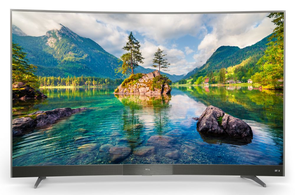 Телевизор TCL L55P3CUS LED 55 Gray, Smart TV, 16:9, 3840x2160, 4000:1, 280 кд/м2, USB, HDMI, AV, Wi-Fi, RJ-45, DVB-T, T2, C, S, S2